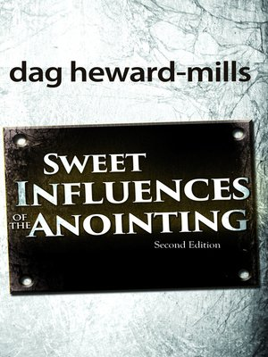 cover image of Sweet Influences of the Anointing
