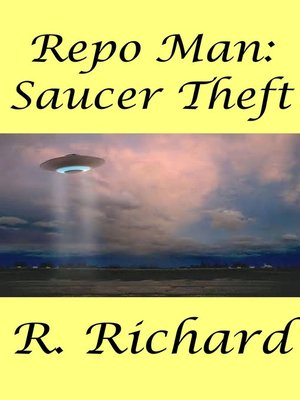 cover image of Saucer Theft