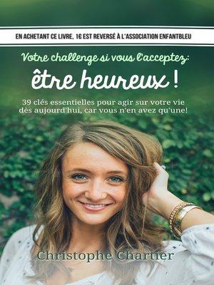 cover image of Votre challenge si vous l'acceptez