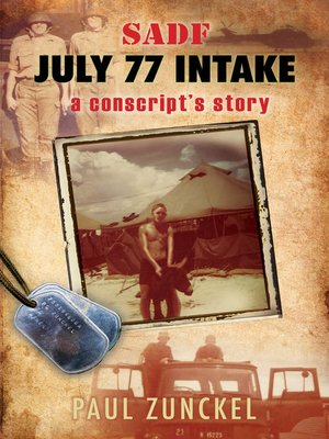 cover image of SADF July 77 intake