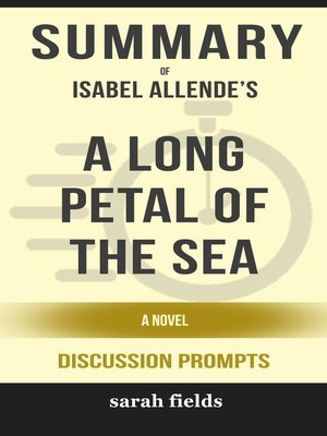 cover image of Summary of a Long Petal of the Sea