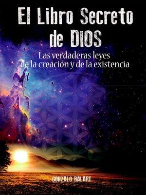 cover image of El libro secreto de Dios