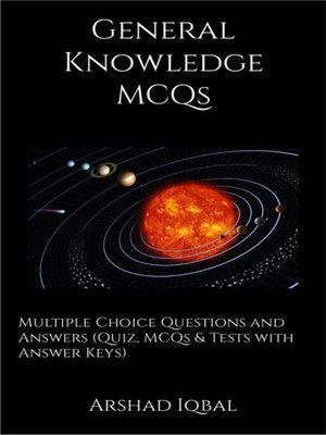 cover image of General Knowledge MCQs
