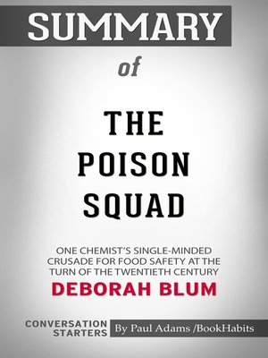 cover image of Summary of the Poison Squad