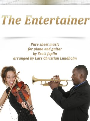The Entertainer Pure sheet music for piano and guitar by