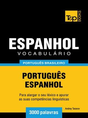 cover image of Vocabulário Português Brasileiro-Espanhol