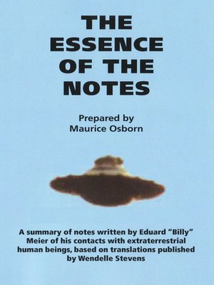 cover image of The Essence of the Notes