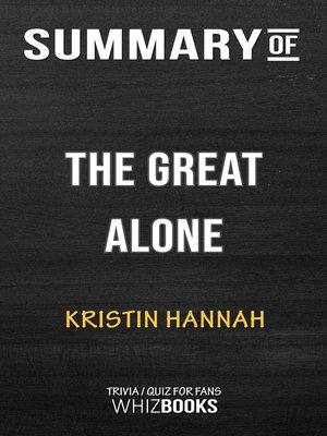 cover image of Summary of the Great Alone
