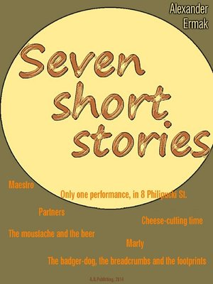 cover image of Seven Short Stories