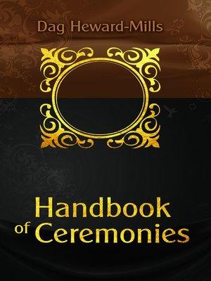 cover image of Handbook of Ceremonies