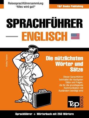 cover image of Sprachführer Deutsch-Englisch und Mini-Wörterbuch mit 250 Wörtern