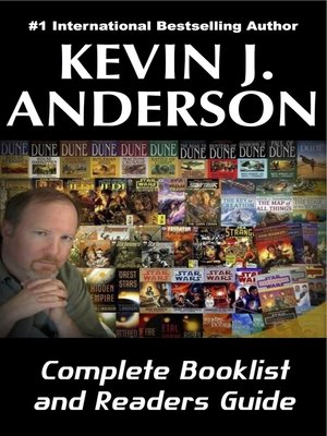cover image of Kevin J. Anderson Complete Booklist and Readers Guide