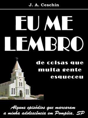 cover image of Eu Me Lembro