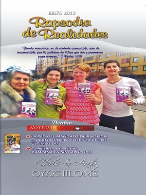 cover image of Rhapsody of Realities May 2013 Spanish Edition