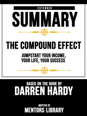 cover image of The Compound Effect