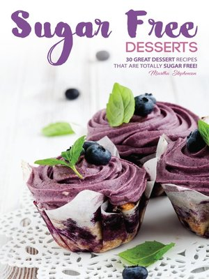 cover image of Sugar Free Desserts