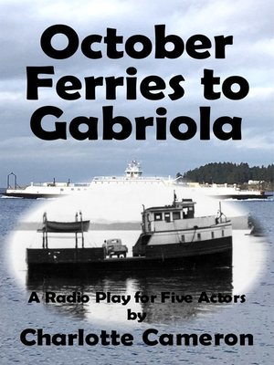 cover image of October Ferries to Gabriola