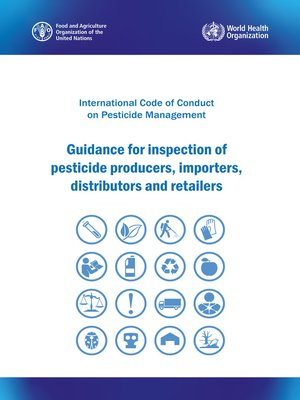 cover image of International Code of Conduct on Pesticide Management