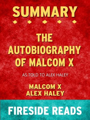 cover image of Summary of the Autobiography of Malcolm X