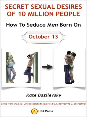 cover image of How to Seduce Men Born On October 13 Or Secret Sexual Desires of 10 Million People