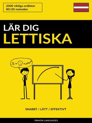 cover image of Lär dig Lettiska