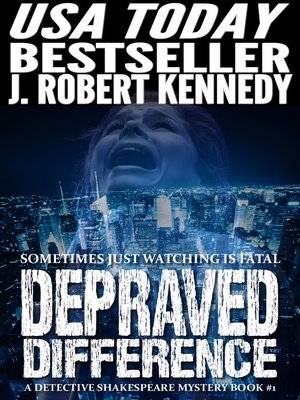 cover image of Depraved Difference (A Detective Shakespeare Mystery, Book #1)