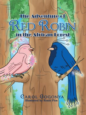 cover image of The Adventure of Red Robin in the African Forest