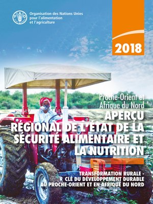 cover image of Aperçu régional de l'état de la sécurité alimentaire et de la nutrition
