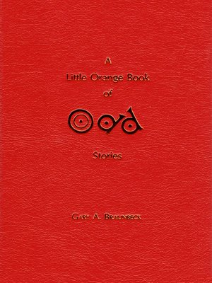 cover image of A Little Orange Book of Odd Stories