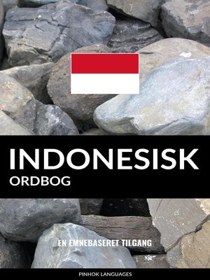 cover image of Indonesisk ordbog