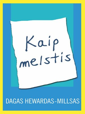 cover image of Kaip melstis