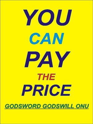 cover image of You Can Pay the Price!