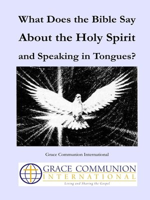 how to speak in tongues holy spirit