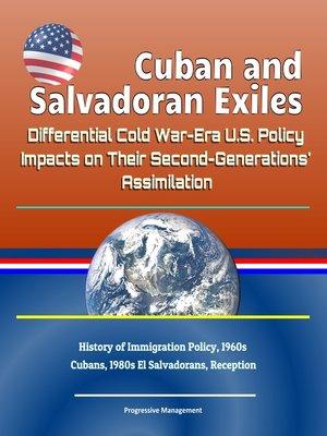 cover image of Cuban and Salvadoran Exiles