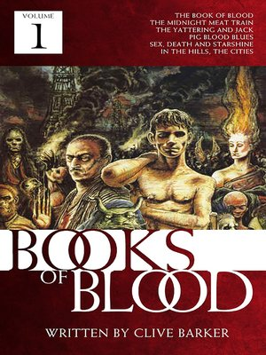 cover image of Books of Blood, Volume 1