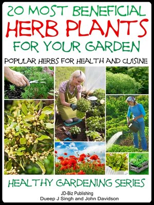 cover image of 20 Most Beneficial Herb Plants for Your Garden