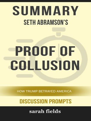 cover image of Summary of Proof of Collusion
