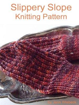 cover image of Slippery Slope Mitten Knitting Pattern