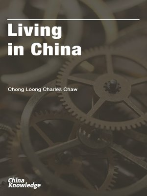 cover image of Living in China