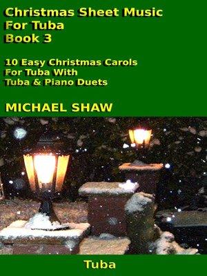 cover image of Christmas Sheet Music For Tuba