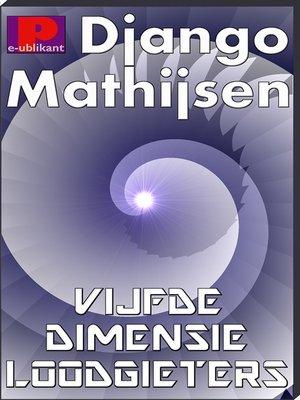 cover image of Loodgieters van de vijfde dimensie