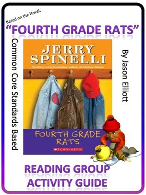 cover image of Fourth Grade Rats Reading Group Activity Guide