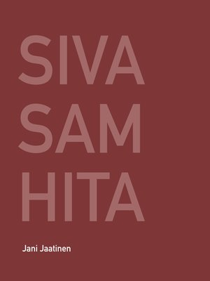 cover image of Siva Samhita
