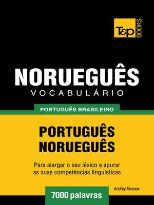 cover image of Vocabulário Português Brasileiro-Norueguês