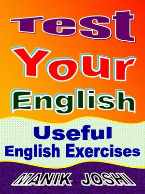 cover image of Test Your English
