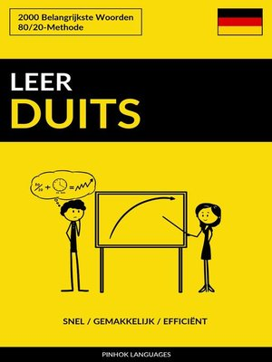 cover image of Leer Duits