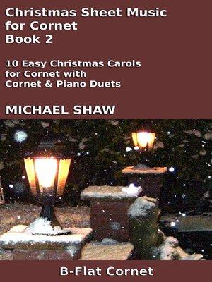cover image of Christmas Sheet Music for Cornet