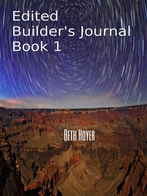 cover image of Edited Builder's Journal Book 1