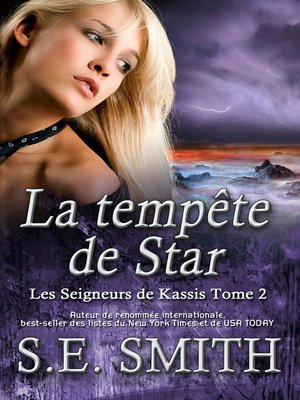 cover image of La tempête de Star