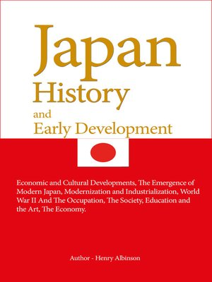 cover image of Japan History, and Early Development